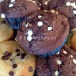 Muffin con gocce di cioccolato. Ricetta passo passo