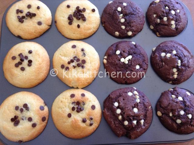 muffin con gocce di cioccolato appena sfornati (640x478)