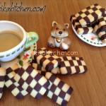 Biscotti a scacchi facili con ricetta passo passo