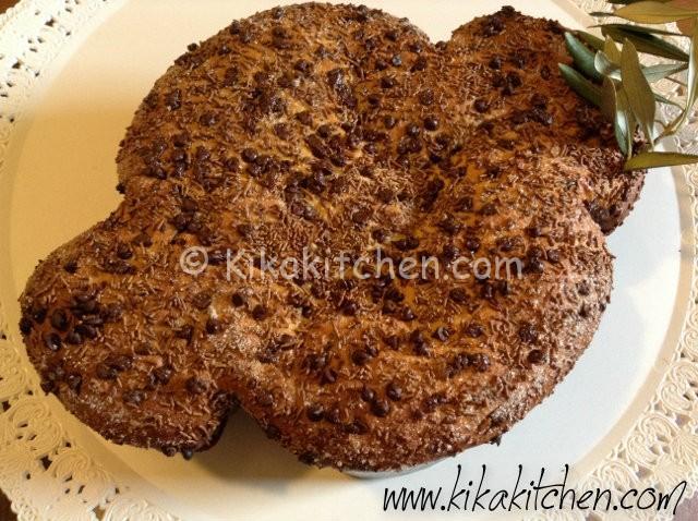 colomba pasquale con gocce di cioccolata (2)