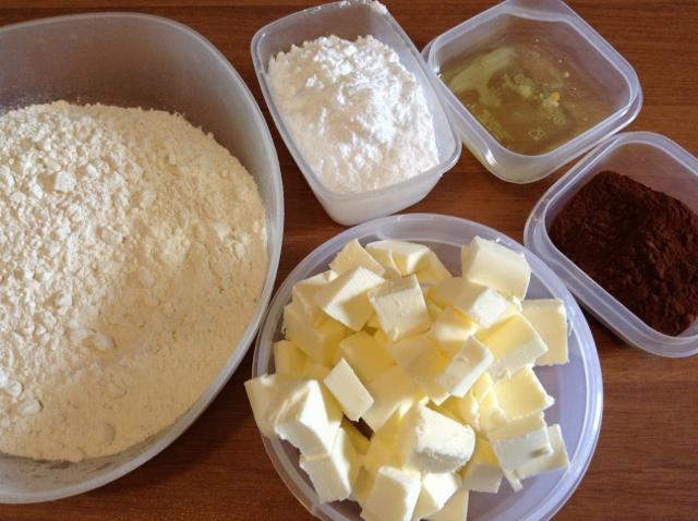 ingredienti girelle biscotto