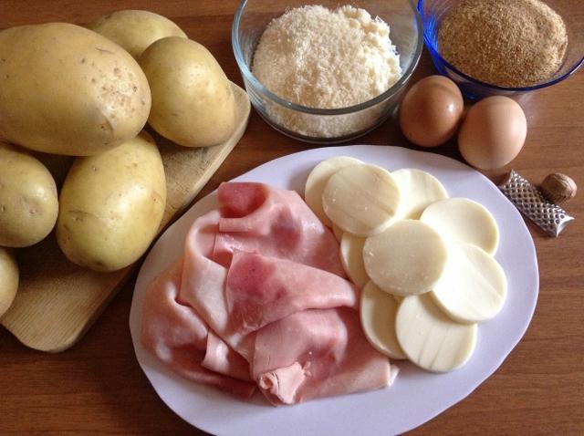 ingredienti per gattò di patate