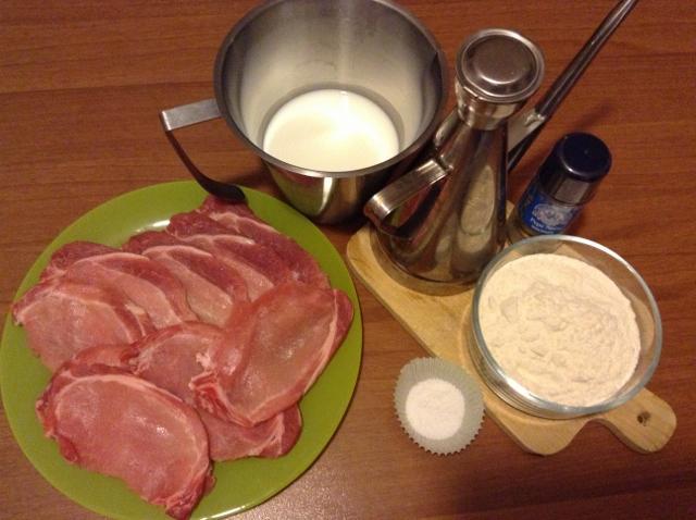 ingredienti scaloppine di arista