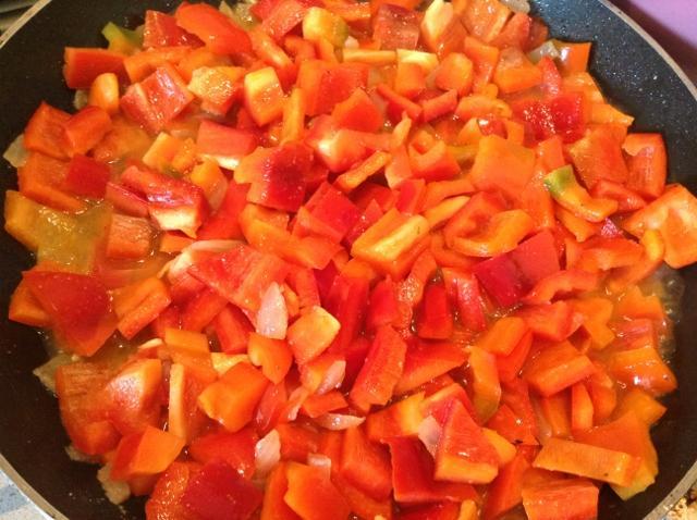 peperoni rossi fritti