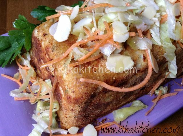 sformato di pollo e verdure (fine)