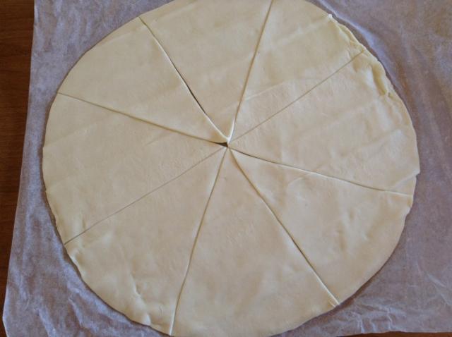 tagliare la sfoglia per cornetti salati (2)