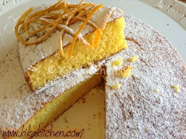 torta alla arancia