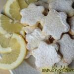 Biscotti al limone (senza uova). Ricetta passo passo