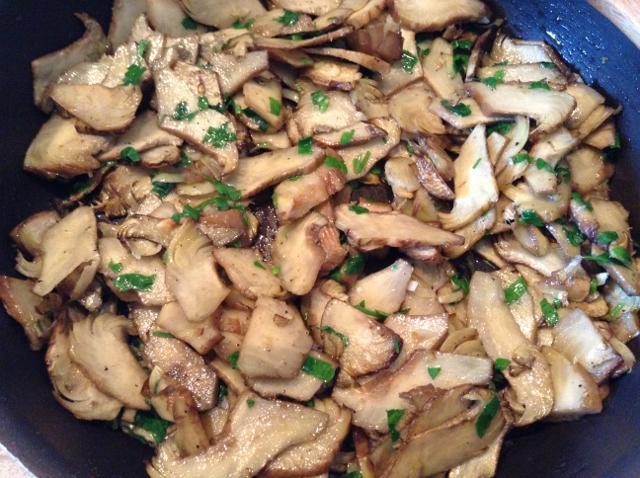 carciofi con aglio e prezzemolo