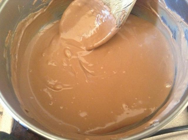 cioccolato kinder sciolto