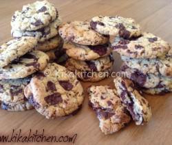Cookies americani (ricetta originale passo passo)