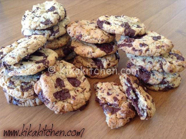 Cookies americani ricetta originale passo passo for Ricette originali