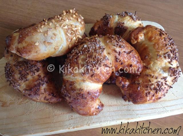 cornetti alla nutella per colazione