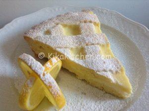 crostata al limone bimby