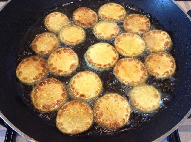 friggere le zucchine