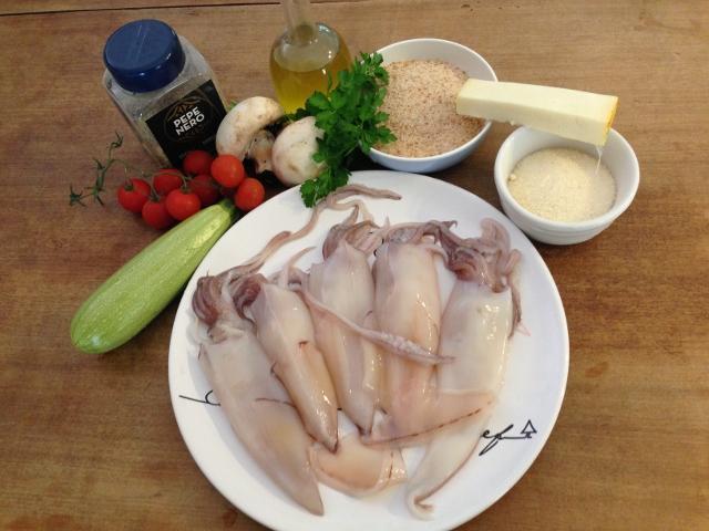 ingredienti calamari ripieni