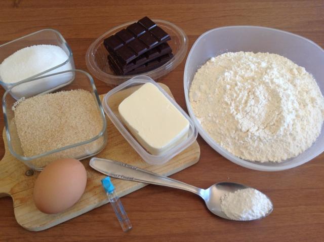 ingredienti cookies