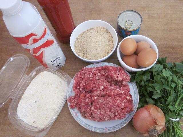 Ingredienti polpette