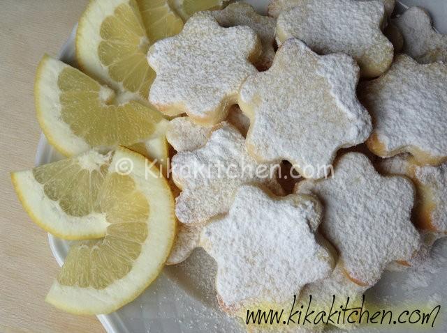 Biscotti al limone (senza uova)