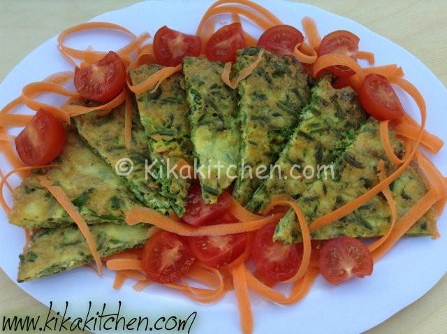 Frittata di asparagi semplice e veloce kikakitchen for Cucina veloce e semplice