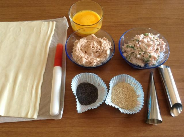 ingredienti cannoli di pasta sfoglia1