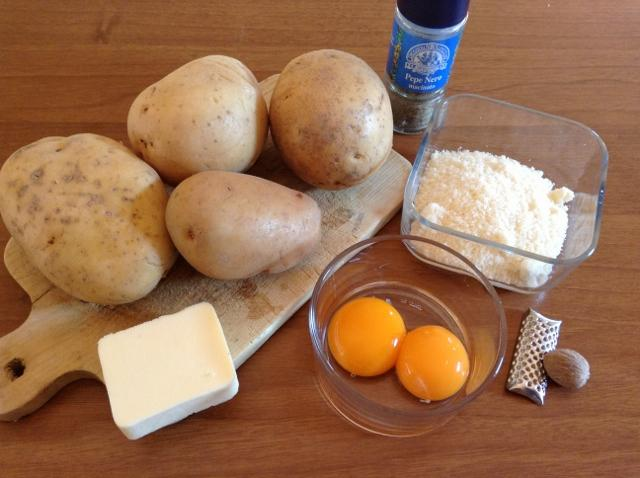 ingredienti sformatini di patate
