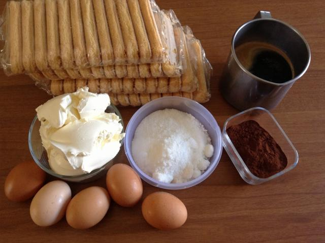 ingredienti tiramisù