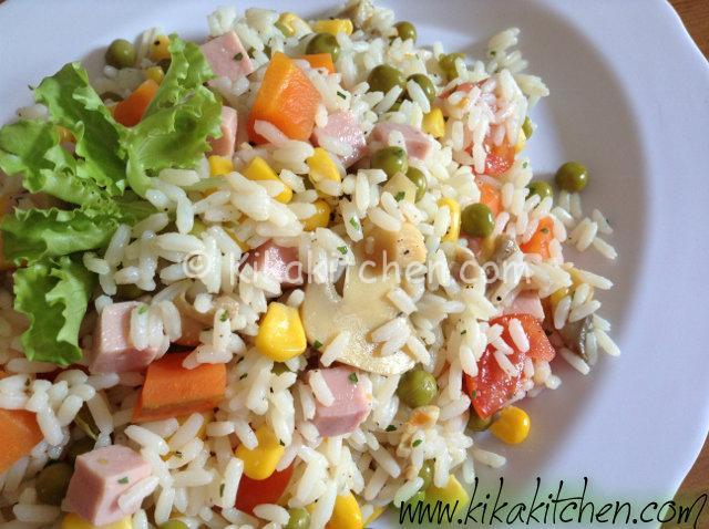insalata di riso leggera1
