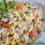 Insalata di riso light (leggera) senza maionese