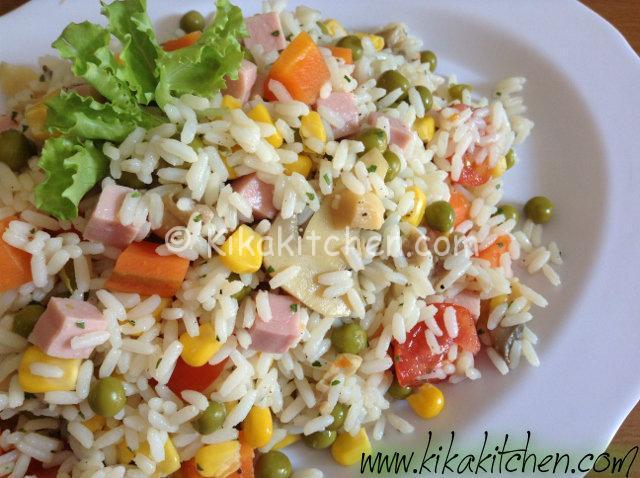 insalata di riso light