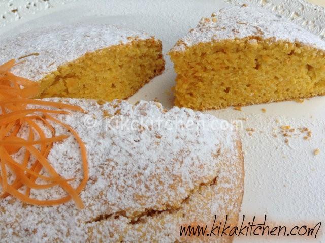 Torta di carote alta e soffice (torta camilla)
