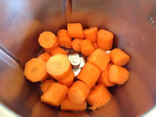 tritare le carote