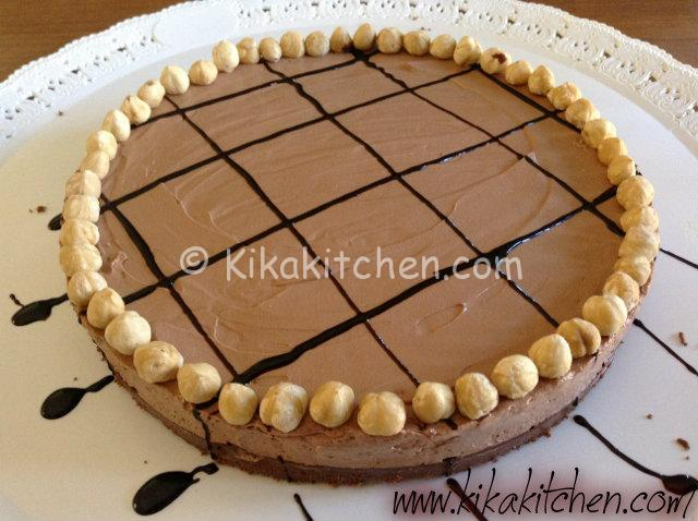 cheesecake alla nutella-1