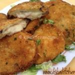 Cordon bleu di melanzane fritti o al forno. Ricetta facile