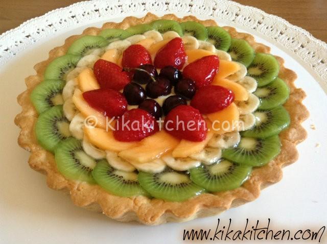 crostata con la frutta