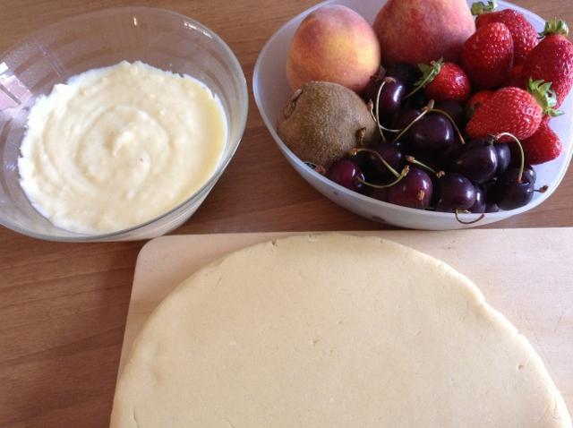 ingredienti crostata di frutta