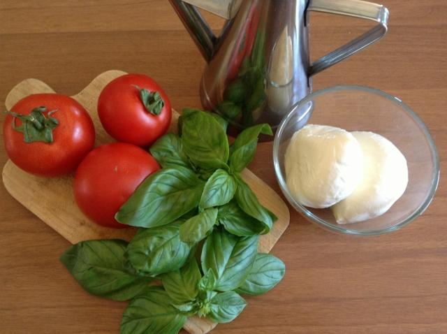 ingredienti insalata caprese