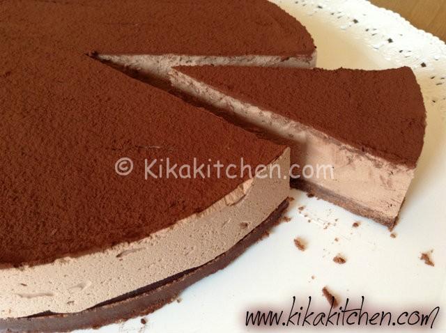 cheesecake con il cioccolato