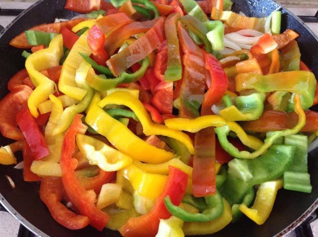 cucinare i peperoni con la mollica
