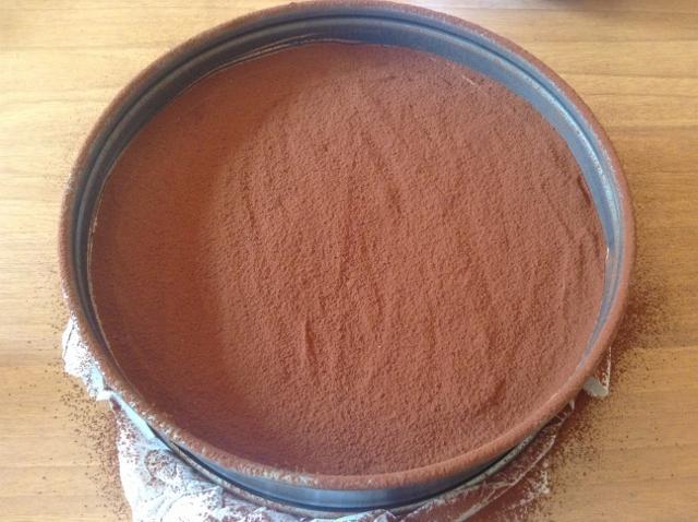 guarnire cheesecake al cioccolato