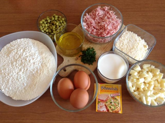 ingredienti per plum cake salato
