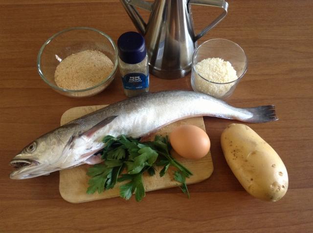 ingredienti polpette di merluzzo