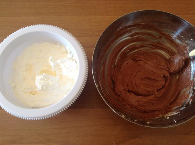 mousse al cioccolato per cheesecake