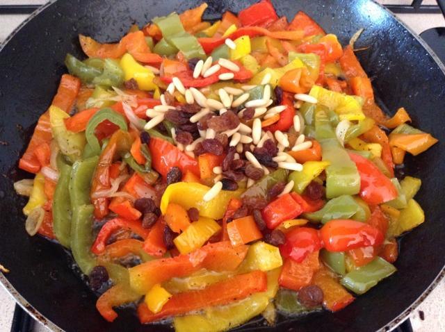 ricetta peperoni con la mollica