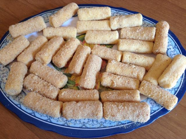 friggere le crocchette di patate