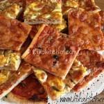 Pizza fatta in casa (soffice e fragrante)