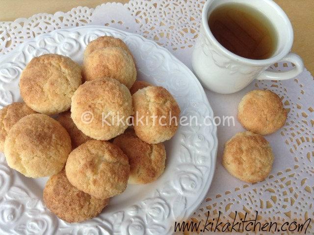 Biscotti al cocco (gemme di riso) con farina di riso