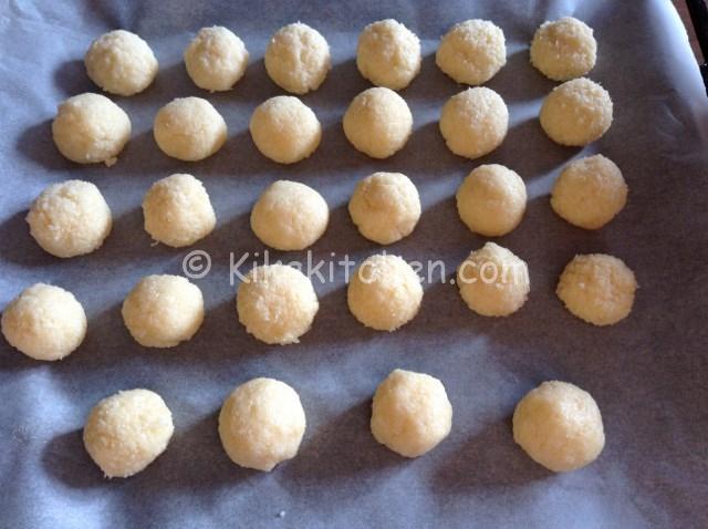 biscotti con la farina di cocco