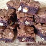 Brownies (chocolate brownie). Ricetta passo passo