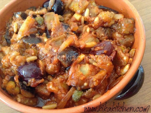 Caponata di melanzane (ricetta siciliana)